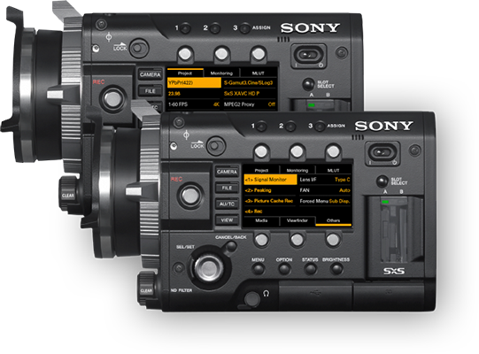 sony f55. protecting your investment sony f55 e