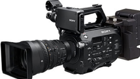 RAW recording, Apple ProRes 422 and multi-cam with Sony's extension unit.