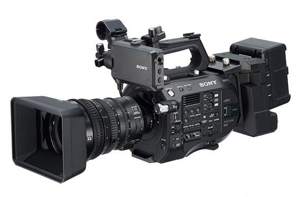 RAW recording, Apple ProRes 422 and multi-cam with Sony's extension unit
